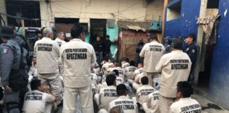 Trasladan presos al nuevo Centro Penitenciario de Apatzingán