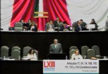 Avanza en comisiones retirar fuero a funcionarios