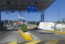 Libera CNTE tránsito en autopistas con toma de casetas