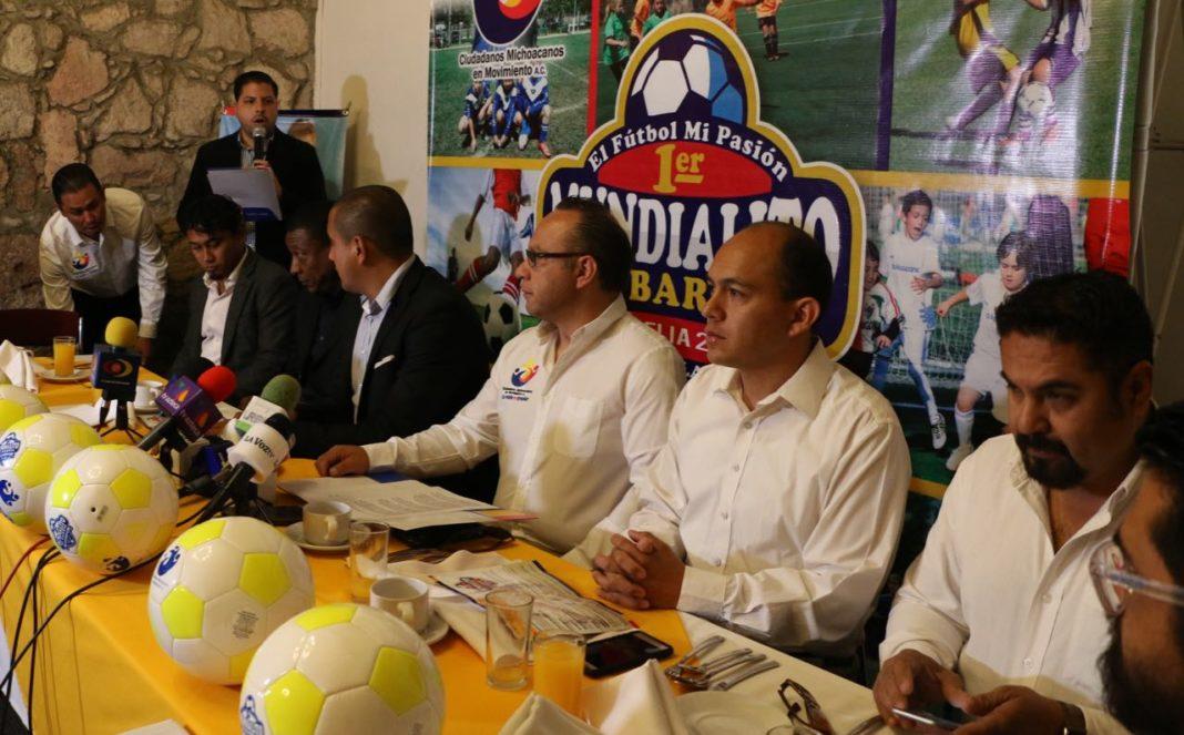 Habrá Mundialito de Barrio en Morelia