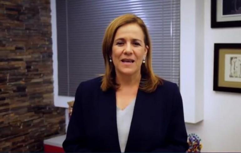 Zavala devolverá al INE recursos oficiales para el financiamiento de su campaña