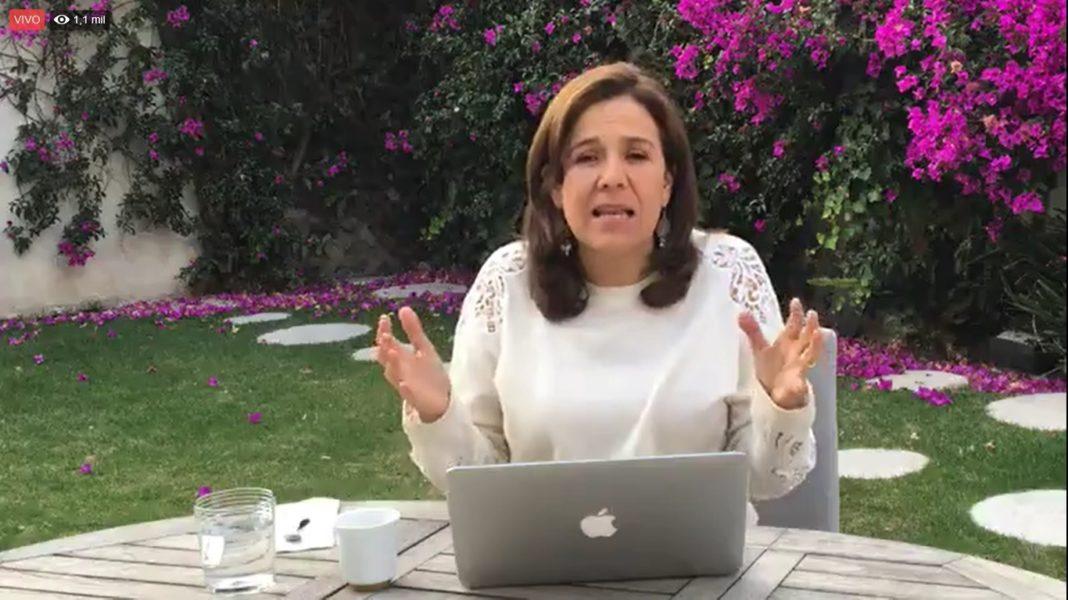Mayor presencia del Estado, propone Margarita Zavala contra inseguridad