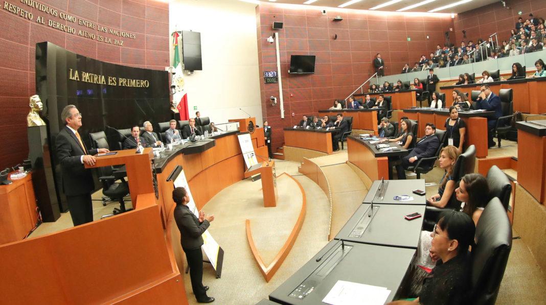 Destacan en el Senado la importancia de la oratoria en el quehacer público nacional