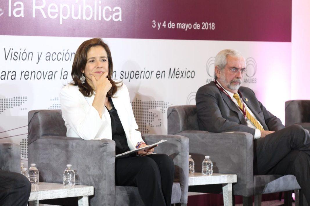 Cortas , plataformas de candidatos en materia de educación superior: Enrique Graue