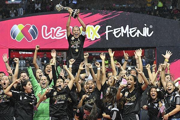 Tigres campeón de la Liga MX Femenil