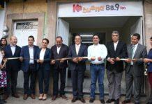 Inauguran primera estación de radio local en Quiroga