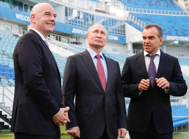 Listos para el Mundial: Putin