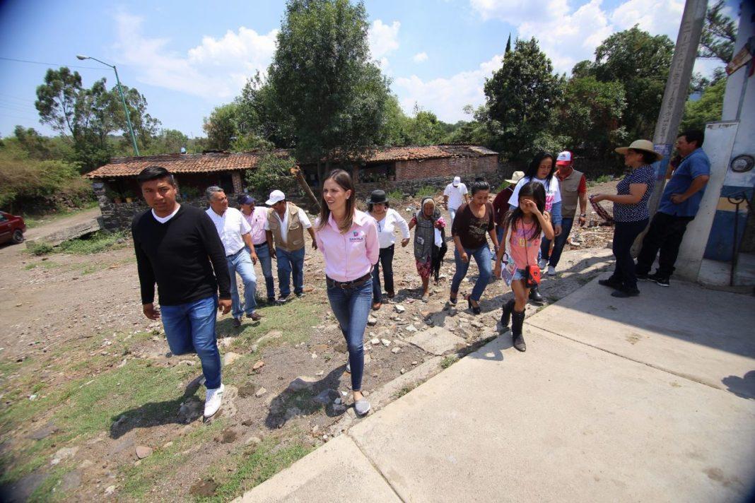 Apoyo total a las tenencias y comunidades de nuestra Morelia: Daniela de los Santos