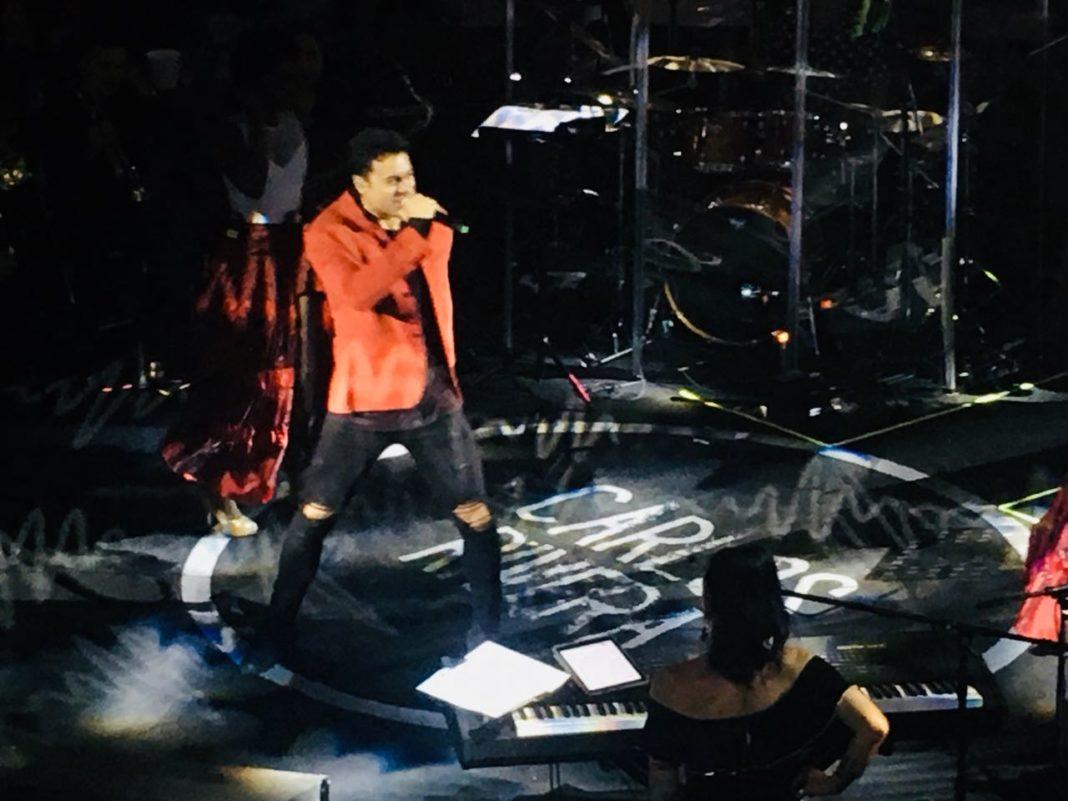 Carlos Rivera presentó su show ante el público michoacano