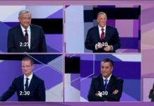 Pleito de AMLO y Anaya se lleva el segundo debate presidencial