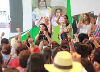"""""""Mujeres priístas construirán nuevas historias y marcarán diferencia en México"""": Xóchitl Ruiz"""