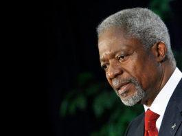Kofi Annan impartirá conferencia en el INE