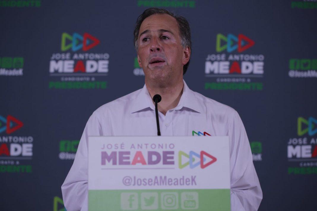 Reconoce Meade su derrota; le desea suerte a AMLO
