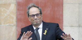Toma posesión el nuevo presidente de Cataluña