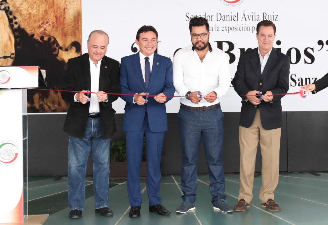 """Senado se llena de colores, inaugura exposición pictórica """"Los Brujos"""""""