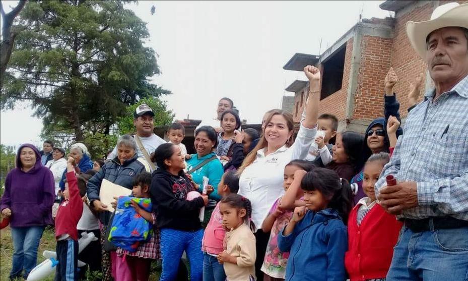 Proyecto de Rosy Salinas representa un cambio con rumbo para Zitácuaro