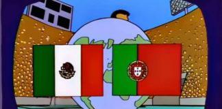 México vs Portugal, la final del Mundial predicen los Simpsons