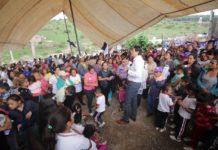 Ratifican apoyo a Alfonso Martínez habitantes de La Quebrada
