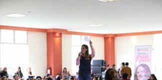 Compromete Daniela de los Santos construcción de al menos 3 guarderías en Morelia