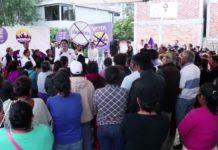 Alfonso Martínez la mejor opción para Morelia: Habitantes de Puerto de Buenavista