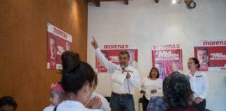 Impulsaremos Contraloría Social para recobrar confianza ciudadana en instituciones: Morón