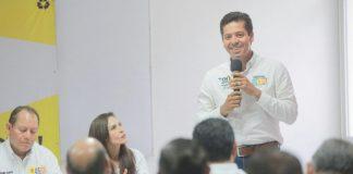 Impulsaremos desarrollo de Lázaro Cárdenas, a la par del puerto: Toño Garcia