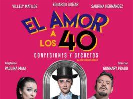 """La puesta en escena """"Amor a los 40"""", llega a la Casona del Teatro"""