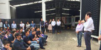 Agroparque industrial va muy avanzado: Alfonso Martínez