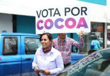 Seré una Diputada Federal que regrese el poder a la gente: Cocoa Calderón