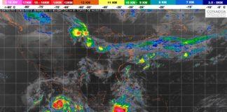 "Alertan tormentas intensas en Michoacán por huracán ""Bud"""
