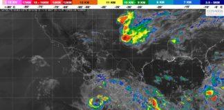 """Se degrada """"Bud"""" de huracán a tormenta tropical"""