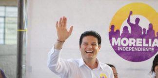 Recibe Alfonso Martinez respaldo de vecinos de la colonia Leandro Valle