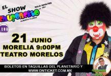 """El comediante """"Chuponcito"""", se presentará en la capital michoacana"""