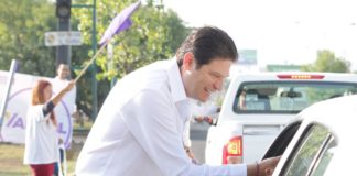 Alfonso Martínez sigue sumando simpatizantes para que Morelia no se detenga