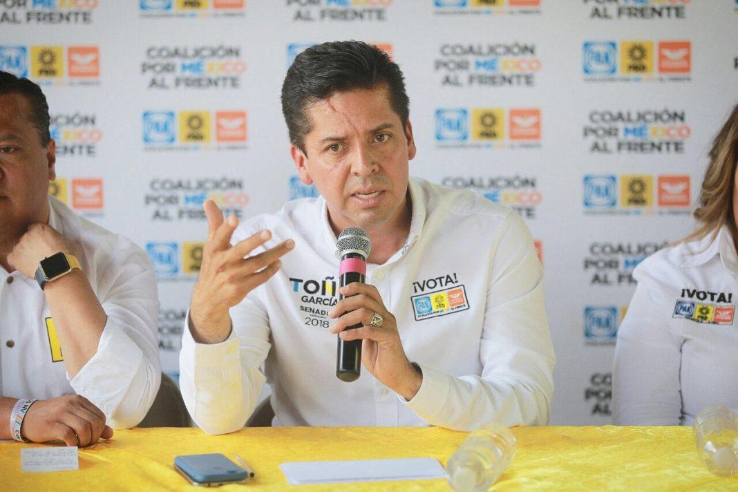 Toño García condena el asesinato del candidato a la presidencia municipal de Taretán, Alejandro Chávez