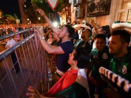 La Selección Mexicana recibe serenata en Rostov