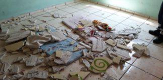 Siete menores lesionados tras caída de plafón en estancia infantil