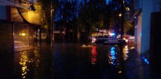 Reportan encharcamientos por lluvia en Morelia