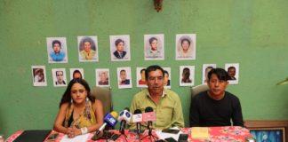 Exigen aparición con vida de miembros de la familia Guzmán Cruz