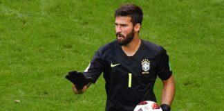El portero brasileño Alisson es el más caro de la historia