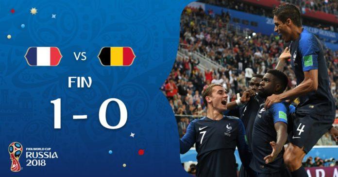 Francia, primer finalista