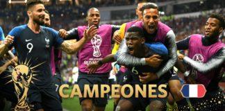 ¡Francia es Bicampeón del Mundo!