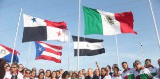 México iza su bandera en Barranquilla