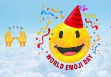 Usuarios celebran el Día Mundial del Emoji
