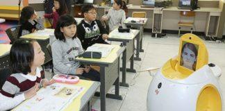 Robots enseñarán inglés en Japón