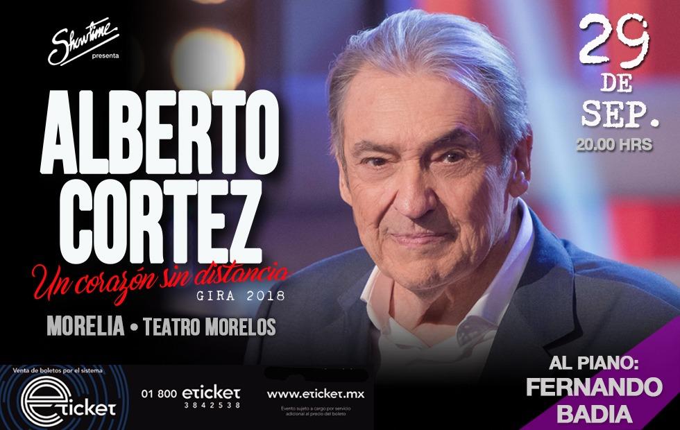 """Alberto Cortez presentará en Morelia su gira """"Un Corazón Sin Distancia"""""""