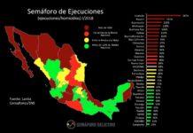 Michoacán cuarto lugar en narcoejecuciones