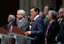 Inicia transición de gobierno mexicano