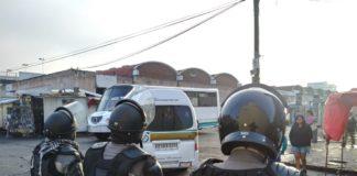 Realizan operativo para evitar instalación de ambulantes en Morelia