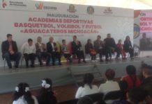 Combatir la violencia en Michoacán a través de las academias deportivas